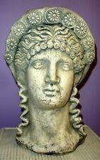 Greek Bust of Athena Goddess Statue Art Sculpture Vintage