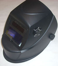 Marquette by Lincoln Black Var Shade 9-13 Solar Auto Darkening Welding Helmet