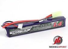 Trattamento NANOTECNOLOGICO 1400mah 3 CELLE Airsoft Lipo Battery Pack 11.1v 15 - 25 C
