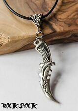 Alchemy Dagger Knife Necklace Pendant Medieval Viking Native Weapon Sword Mens