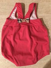 NWT Burberry Infant Baby Swimsuit 12m-18m $75