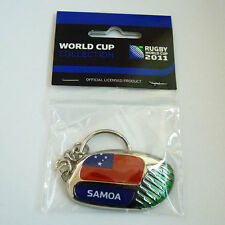 Rugby World Cup RWC 2011 Samoa Country Key Ring