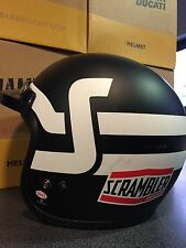 Ducati Scrambler Short Track Casco Jet 981030813 - Helmet Ducati Scrambler BELL