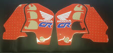 1990 HONDA CR 500 TANK RADIATOR SCOOP GRAPHICS STICKERS DECALS