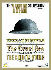 CRUEL SEA / DAM BUSTERS / COLDITZ STORY - NEW DVD