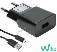 Caricabatterie Originale Wiko UD36A50100 Cavo Micro USB per Fever 4G Pulp Jerry