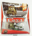 Race Team Sarge With Headset Disney Pixar World of Cars 3/5 MOSC New