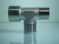 1/4 Bsp Male Centre Tee with1 Male & 1 Female 3 Way Tee Fitting 1 Off