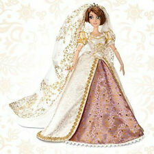 Disney Limited Edition Tangled Ever After Rapunzel Wedding dress Doll 17''