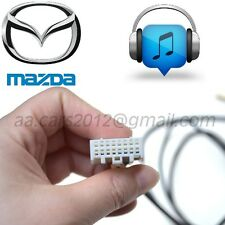 Mazda Aux In Interface Adaptor for iPhone 5 6 7 S Plus with Lighting Charger