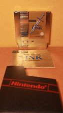 ZELDA II Gold Adventure of Link PAL NES Unboxed VGC Tested and Working 07B