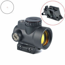 1x25 Adjustable Red Dot Sight 2.0 MOA With High and Low Mount Reflex Style MRO