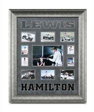 Lewis Hamilton Signed Framed F1 Mercedes Photo Autograph Display Memorabilia COA