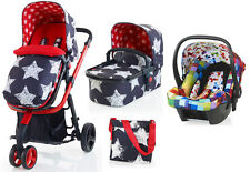New Cosatto giggle 2 3 in 1 travel system in hipstar with pixelate car seat