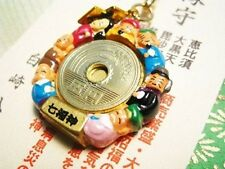 "OMAMORI Good luck charm ""Seven Lucky Gods amule "" JAPAN JAPANESE DM-G104"