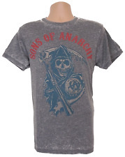 Official Sons Of Anarchy T-Shirt Mens Medium Blue Reaper
