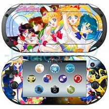 Anime Sailor Moon Crystal Vinyl Skin Decal Sticker for Sony PS Vita 2000 PCH2000