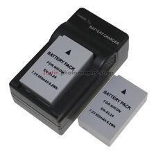 AC Charger +2x 850mAh Battery for Nikon EN-EL24 MH-31 ENEL24 1 One J5 1J5 Camera