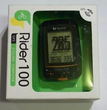 Bryton Rider 100 GPS Bicycle Riding/Cycle Computer/Mount New Wireless Bike 100E