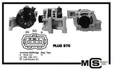 New OE spec FORD Focus II 2.0 04- FORD Focus III 2.0 08- Alternator