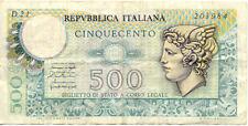 ITALIE ITALY ITALIA 500 L 1974 état voir scan 984