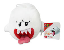 "Authentic  4"" Ghost Boo Stuffed Plush Sanei Super Mario All Star Series"