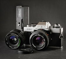 Minolta xg1 (NEW) + MD 50/1, 7 + 28/2, 8 + winder