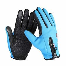 Waterproof Men's Women's Winter Ski Warm Gloves Motorcycle Touch Driving Gloves