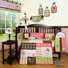 Baby Girl Dream Flower 13 Piece Nursery CRIB BEDDING SET One Week Special Sales