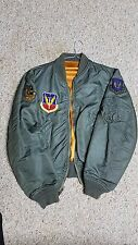 USAF L-2B Flight jacket, Vintage with Tactical Air Command Patch