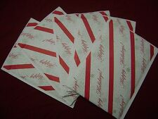 20 Happy Holiday 8.5x11 Kraft Christmas Red Green White Self Seal Bubble Mailer