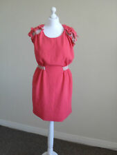 Womens dress by A/Wear, size 10,pink/brown  short, brand new