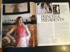 CAROLE RADZIWILL interview JACKIE KENNEDY ONASSIS NEW UK 1 DAY ISSUE NEON JUNGLE