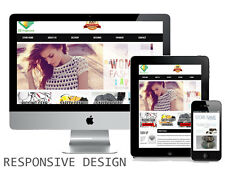 Ebay store and Listing Template design, auctiva, inkfrog, RESPONSIVE DESIGN