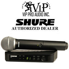 Shure BLX24/PG58 J10 Wireless System With PG58 Mic (J10: 584 - 608 MHz) Dealer.