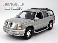 4.75 Inch Cadillac Escalade Scale Diecast Metal Car Model by Welly - SILVER