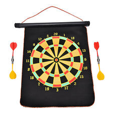 12 Double-sided Magnetic Dart Board Indoor Target Game & 4 Magnetic Darts TO