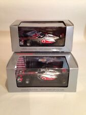 Jenson Button & Lewis Hamilton McLaren Mercedes Vodafone Dealer Model 2011 New