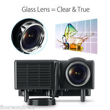 Excelvan Multimedia Portable LED/LCD Projector Home Cinema Theater for DVD PCG