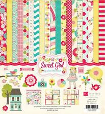 SWEET GIRL Collection Kit 12x12 Scrapbook ECHO PARK Paper NEW!