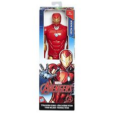 MARVEL AVENGERS TITAN HERO Series 12 Inch IRON MAN LA FIGURA c0756