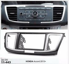 2 Din Fascia Stereo For HONDA Accord 2013+  0.003 Dash Mount Trim Kit Frame