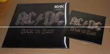 LOT AC/DC -- ROCK OR BUST VINYL + CD - + 45 Trs ROCK OR BUST  COLLECTOR NEUF