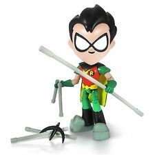 "**Big 8"" (20cm) Teen Titan Robin Leader GO! Articulated Action Figure Pack-Value"