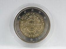 *** 2 EURO Gedenkmünze ITALIEN 2012 10 Jahre Bargeld Münze Coin KMS Italia ***