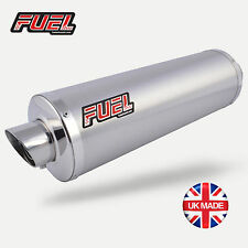 Suzuki Hayabusa GSX13 96-07 Slash Brushed S/S Round Mini UK Road Legal Exhausts