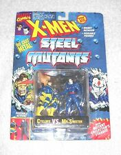 X-Men Steel Mutants - Cyclops vs. Mr. Sinister - MOC 100% complete (TOY BIZ)