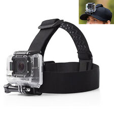 US Adjustable Anti-slide Head Strap Mount Belt Headband For GoPro Hero 3 2