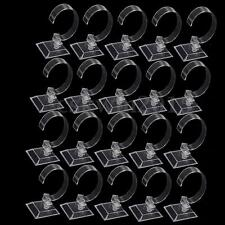 20pc Clear Acrylic Bracelet Watch Display Holder Stand Rack Retail Shop Showcase