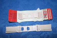 NEU BH Verschluss Büstenhalter 2 Paar mit Gummi Rosa Plasteverschluss 15 cm lang